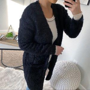 Free People Sweaters - NWT Free People Faux Fur Cardigan